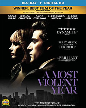 A Most Violent Year Cover Blu-ray