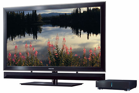 Toshiba's ZX900 Series CELL TV
