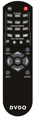 DVDO iScan Mini Remote