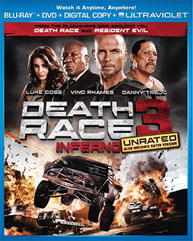 Death Race 3 Blu-ray
