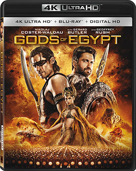 Gods of Egypt 4K Cover