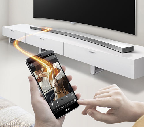 LG Curved Sound bar