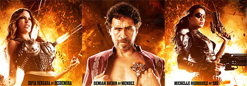 Machete Kills Triptych