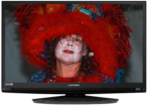 "Mitsubishi LT-40134 40"" LCD HDTV"