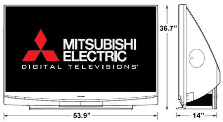 Mitsubishi WD-60735 HDTV Review