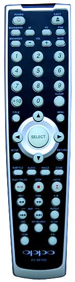 Oppo DV-981HD Remote