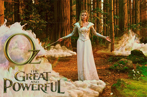 Oz, The Great and Powerful Blu-ray