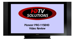 Pioneer PRO-1150HD Video Review