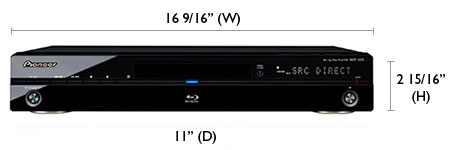 Pioneer BDP-320 Blu-ray Player Review