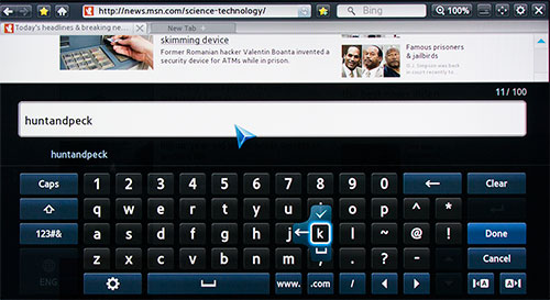 how to use samsung smart tv on screen keyboard