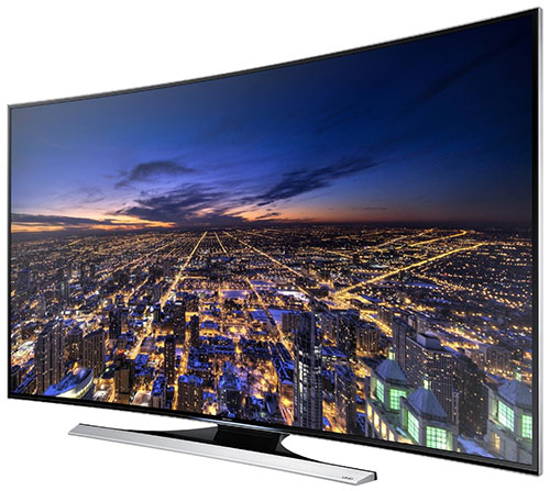 Samsung HU8700 Series 4K Smart 3D Curved LED TV