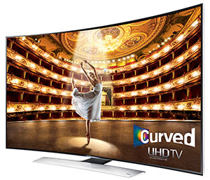Samsung HU9000 Curved UHD 4K TV