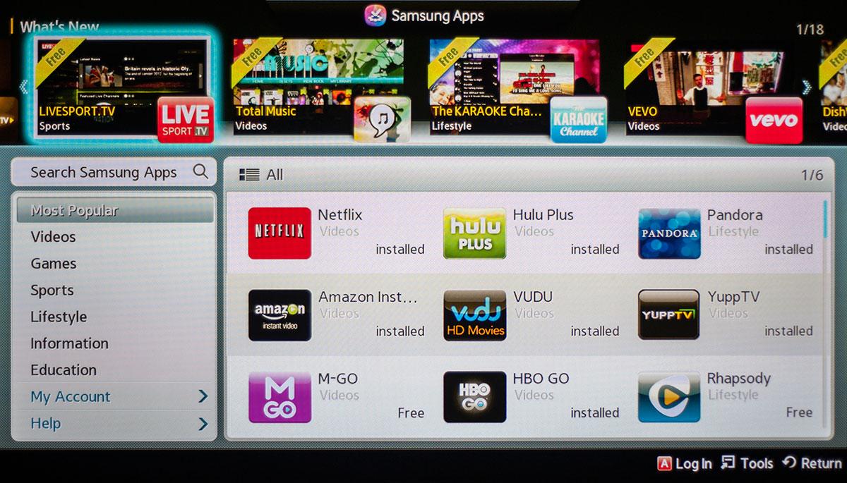 Samsung PN60F8500AF TV Review Page 2