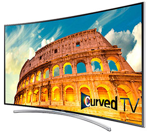 Samsung UN55H8000 Curved TV