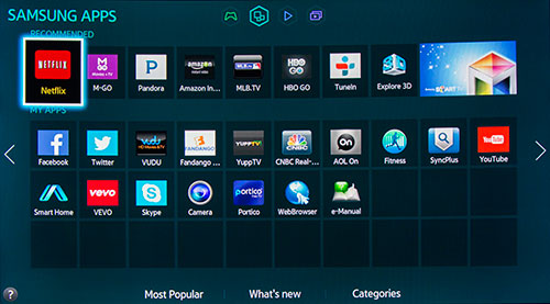 how to add apps to samsung smart tv hub