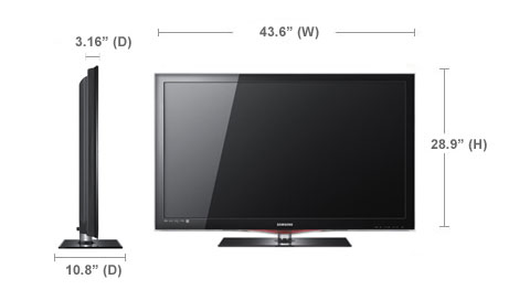 samsung ln46c650 lcd hdtv review. Black Bedroom Furniture Sets. Home Design Ideas