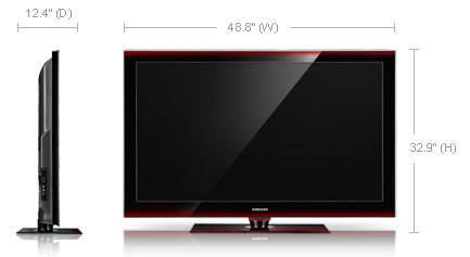 50 inch tv dimensions pictures to pin on pinterest pinsdaddy for Liner diametre 4 50