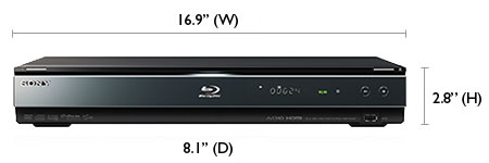 sony bdp s560 blu ray player review rh hdtvsolutions com DVD Player Cords DVD Player Schematics