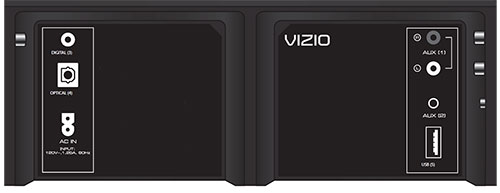Vizio S W Backpanel on vizio sound bar inputs