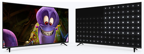 Vizio E55-C2 Active LED zones