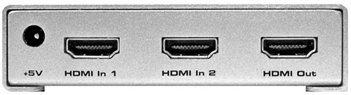 HDMI Switcher Back